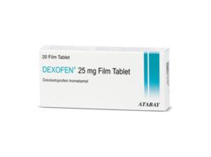 dexofen 25mg yan etkileri